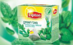Lipton Green Tea Intensywna Mięta