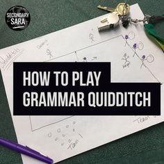 Grammar And Punctuation, Teaching Grammar, Grammar Lessons, Teaching Writing, Teaching Ideas, Writing Games, Grammar Games, Writing Lessons, Writing Ideas