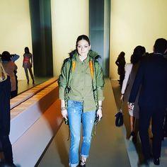 Olivia Palermo - Ermanno Scervino Fall 2017 Show - February 25, 2017 #MFW #FW17