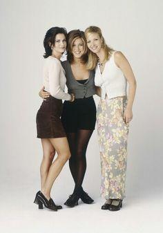 Monica, Phoebe and Rachel