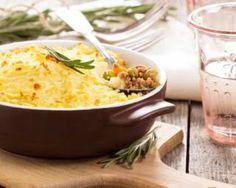Hachis parmentier allégé aux petits pois et carottes : http://www.fourchette-et-bikini.fr/recettes/recettes-minceur/hachis-parmentier-allege-aux-petits-pois-et-carottes.html