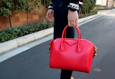 Givenchy Antigona red - Google Search