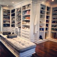 Yolanda Foster's Closet for your viewing pleasure! #RHOBH #closet #laclosetdesign