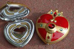 Sailor Moon S Cosmic Heart Compact Brooch by StarlightStudioStuff