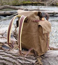 NW Woodsman Bushcraft Pack.  Possibly the best pack out there for Bushcraft long term.