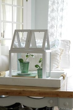 , 39 Easiest Dollar Store Crafts Ever - Picture Frame Greenhouse Terrarium - Quick And Cheap Crafts To Make, Dollar Store Craft Ideas To Make And Sell, . , 39 Easiest Dollar Store Crafts Ever Diy Home Decor Rustic, Diy Home Decor Bedroom, Cheap Home Decor, Country Decor, Bedroom Furniture, Bedroom Ideas, Dollar Store Hacks, Dollar Stores, Terrarium Diy