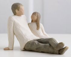"""Father Daughter Willow Tree  """"Celebrating the bond of love between fathers and daughters """""""