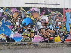 """Os amantes de arte urbana não podem perder a exposição """"Muros Vivos – Mapa dos Graffitis"""", em exibição no Sesc Venda Nova, até o dia 5 de abril. A visitação acontece de segunda-feira a domingo, das 9h às 17h.  A entrada é Catraca Livre."""
