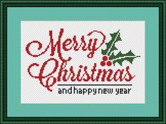 Excited to share the latest addition to my #etsy shop: Merry Christmas cross stitch pattern Easy cross stitch Christmas pattern Xmas cross stitch modern xstitch pattern quote cross stitch pattern #crossstitchpattern #merrychristmas #easycrossstitch #stitchchristmas #christmaspattern #xmascrossstitch http://etsy.me/2z6EDYl
