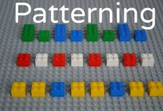 Math Activities for Preschoolers: Learning With Legos - Simple Patterns