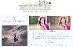 Morgan Burks Freebie and contest from Photographers Connection! Happy Birthday Photographers Connection