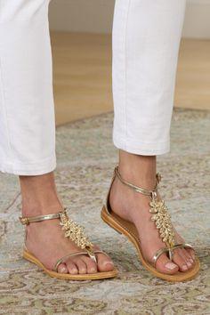 Glitterati Sandal - Sandals, Shoes | Soft Surroundings