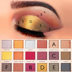 Image may contain: one or more people, makeup and closeup Makeup Revolution Soph, Revolution Palette, Makeup Tips, Beauty Makeup, Hair Makeup, Makeup Ideas, Eyeshadow Looks, Eyeshadow Makeup, Pretty Makeup