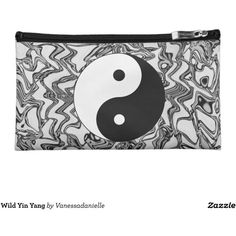 Wild Yin Yang Cosmetics Bags (€34) ❤ liked on Polyvore featuring beauty products, beauty accessories, bags & cases, wash bag, makeup bag case, make up bag, make up purse and purse makeup bag