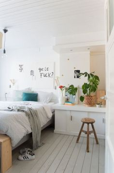 """This fancy bedroom is from our feature """"Creative Stuff"""""""