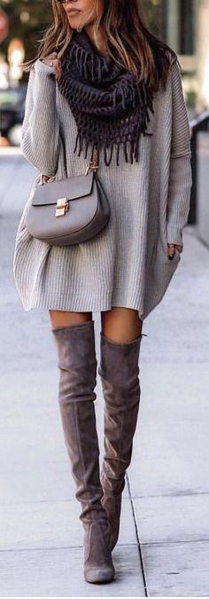 wunderschöne Outfits, um so schnell wie möglich zu versuchen Images, Women's Fashion, Sweaters, Dresses, Slip On, 2016 Trends, Feminine Fashion, Watch, Women