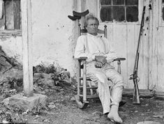 During the Battle of Gettysburg, [John L.] Burns, a 70-year-old civilian living nearby, grabbed his flintlock musket and powder horn and walked out to the battlefield to join in with Union troops. The soldiers took him in, and Burns served well as a sharpshooter. During a withdrawal, Burns was wounded several times and left on the field. he managed to get himself to safety, his wounds were treated, and his story elevated him to the status of National Hero briefly.
