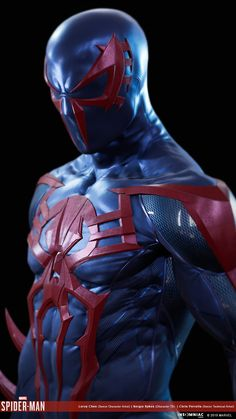 Marvel's Spider-man 2099 black suit, Leroy Chen Spiderman Drawing, Spiderman Pictures, Black Spiderman, Spiderman Art, Amazing Spiderman, Marvel 2099, Marvel Dc Comics, Marvel Heroes, Marvel Avengers
