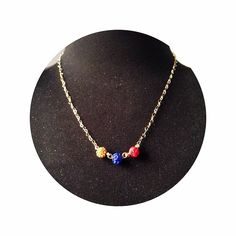 Apoyando a nuestra selección sofisticadas y majestuosas!  lecat - lecat accesories - Colombia en el mundial - colombian design - collar