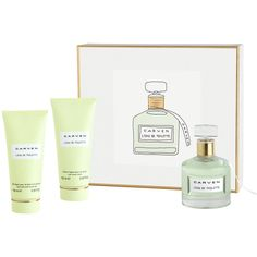 Carven L'eau de Toilette Gift Set (4,250 THB) ❤ liked on Polyvore featuring beauty products, gift sets & kits, eau de toilette perfume, carven perfume and edt perfume