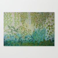 Canvas Print featuring Luxuriance II by Sandrine Pelissier