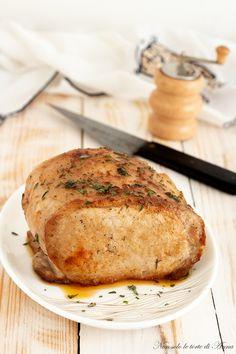 Arista al birra Diced Pork Recipes, Mexican Pork Recipes, Pulled Pork Recipes, Italian Recipes, Good Food, Yummy Food, Pork Loin, Fett, Roast