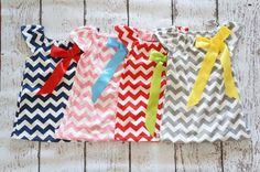 Chevron Peasant dress - 4 Colors - Chevron baby Dress - Chevron -Baby - Dress - Birthday Outfit - Girls Chevron dress - 0months to 5toddler on Etsy, $24.50