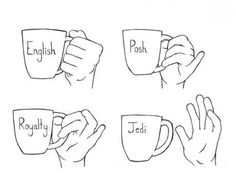 Everyone makes fun of me for sticking my fingers out when I drink but according to this I am posh and occasionally royal! English tea drinking guide