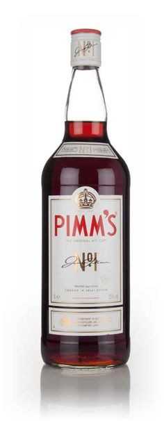 Pimm's No.1 Cup - For when your garden parties are just a bit bigger than usual, here's a 1 litre bottle of the unmistakable British summertime drink, Pimm's No.1 Cup. Best stock up on lemonade, strawberries, orange, mint, cucumber and ice.