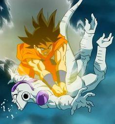 #Goku VS Freezer #DragonBall Ƶ: Fukkatsu no 「F」 #DBZ: La resurrección de #Freezer