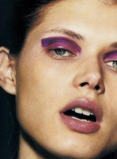 purple graphic eye | @bingbangnyc