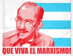 Groucho Marx - Che Guevara style  - Poster