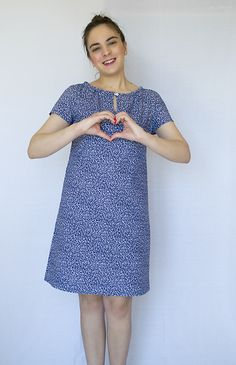 My Lulu dress from Sew Over It Sew Over It Patterns, Dress Sewing Patterns, Clothing Patterns, High Street Trends, Shift Dress Pattern, Diy Dress, Signature Style, Sewing Projects, My Style