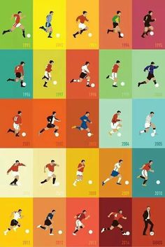 Ryan Giggs announced his retirement from playing on Monday after a glittering career with Manchester United. As is the norm these days, pictures, videos and tributes have flooded the internet and social media and we take a look at the best ones. Football 2018, Best Football Team, Football Art, World Football, Football Stuff, Manchester United Legends, Manchester United Football, Liverpool, Soccer Art