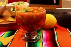 Mexican-Style Shrimp Cocktail - Quick and Delicious Recipe - Mex Mundo #shrimpcocktail #mexicanfoodrecipes #mexicanfood