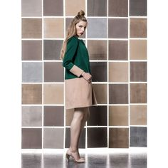 by Gio Rodrigues set dress coat cashemere crepe