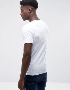Jack & Jones Core Basic V-Neck T-Shirt - White