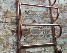 Copper pipe Shower and flexible hose Copper Pipe Taps, Brass Tap, Copper Shower Head, Wall Mounted Taps, Copper Ceiling, Towel Radiator, Mixer Shower, Hand Held Shower