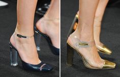 transparent toe shoe - Buscar con Google