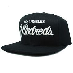 The Hundreds Forever Team Snapback Hat (Black) $28.95