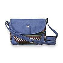 Dream Out Loud by Selena Gomez Junior's Woven Fabric Crossbody Bag