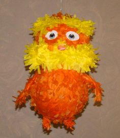 A Lorax pinata, how cute!