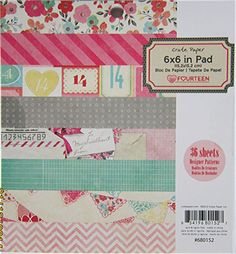 Crate-Paper-Fourteen-Valentine-6-x-6-Paper-Pad-amp-Embellishments-A-29-msrp