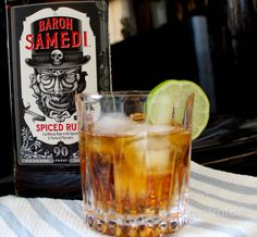 Storm Cocktail Recipe with The Baron Samedi Rum: There is a new spiced rum on the market and it's named after one of the most notorious spirits of Haitian culture – The Baron Samedi. Made with a combination of Caribbean and Jamaican rum – there is much complexity to this spiced rum. Notes of vanilla, cocoa and cinnamon are prevalent when you taste it but vetiver is also added which is a grass native to Haiti.