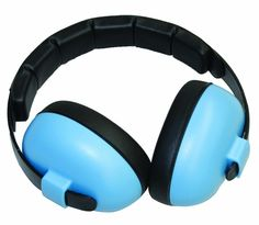 Baby Banz Ear Muffs Mini 3M - 2Yrs Baby Blue