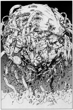 (from Akira, by Katsuhiro Otomo, 1982-1990)