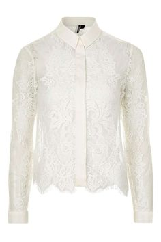 Premium Fine Cord Lace Shirt