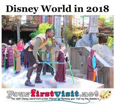 Visiting Disney World in 2018?  Here is the website page to start with for all your planning needs.
