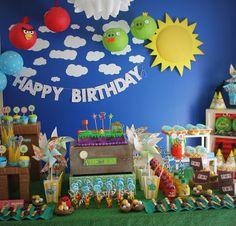 Festa Angry Birds                                                                                                                                                                                 Mais