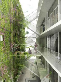 art colleges architectural design green path in between - Google Search